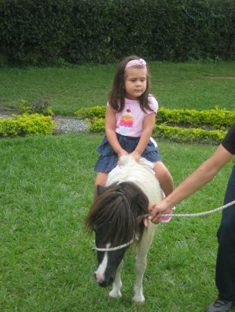 Chinchina, Colombia: paseo en ponny
