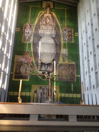 Κόβεντρυ, UK: Tapestry of Christ