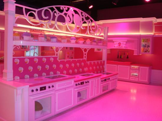 barbie dream house experience kitchen