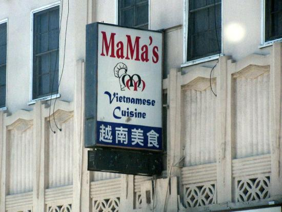 MaMa's Vietnamese Cuisine, El Camino, San Mateo, Ca