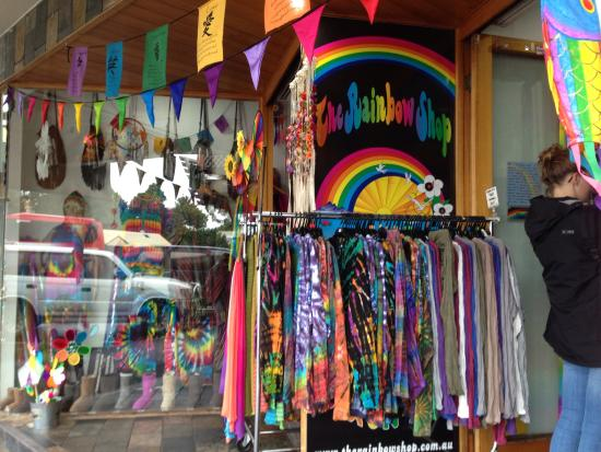 ef4dd5fdda573e Loved the rainbow shop - Picture of Belongil Beach