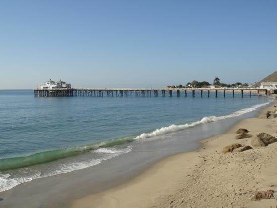 Carbon Beach Club Restaurant: View of Malibu Pier
