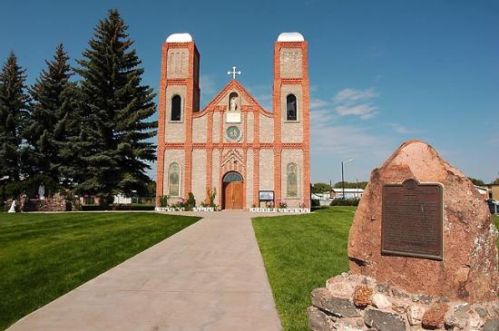 Conejos, CO: Oldest church