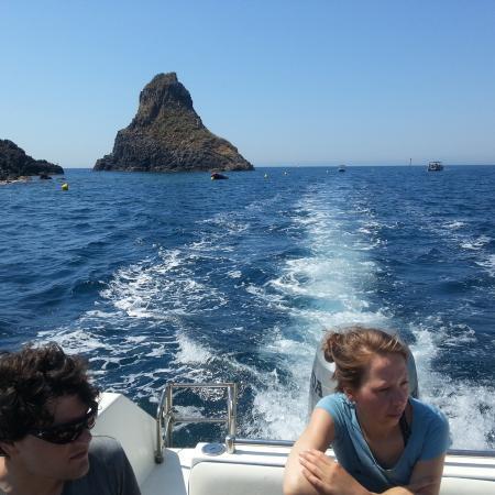 Il Faro diving center: snorkeling Aria marina protetta Isola dei Ciclopi