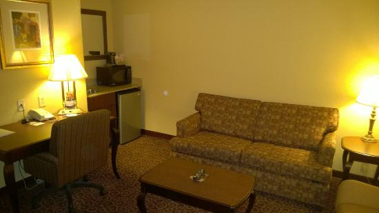 Hampton Inn Bennington: Living room area