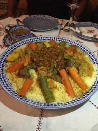 Riad Fez Yamanda : Los mejores platillos que comí durante el viaje.