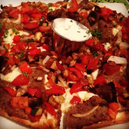 The Pickle & Turnip: Gyro pizza