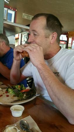 Glacier Grille & Pizza: Oh, Brandon!