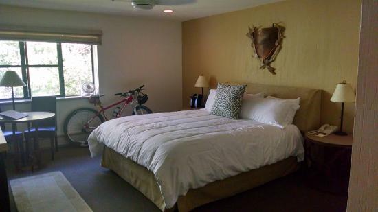 PlumpJack Squaw Valley Inn: Slept well