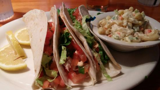 Ithaca Ale House: Lobster Tacos