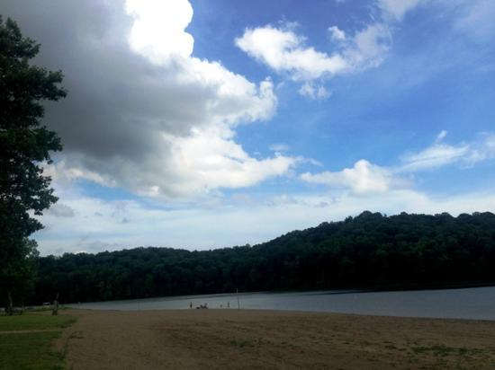 Salt Fork State Park : Campground Beach