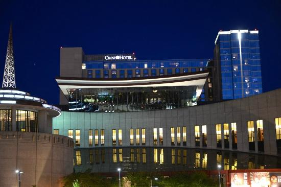 night view from plaza country hall of fame omni nashville rh tripadvisor com