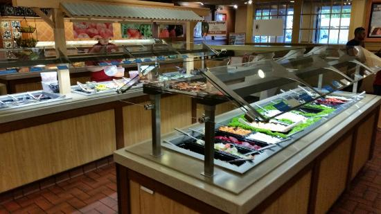 Old Country Buffet: Delicious food.