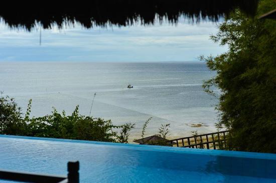 Eskaya Beach Resort & Spa: View from our villa