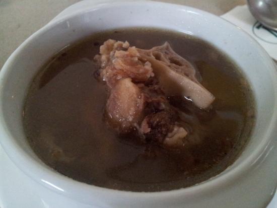 The Grill at Tiara Labuan: Ox tail soup