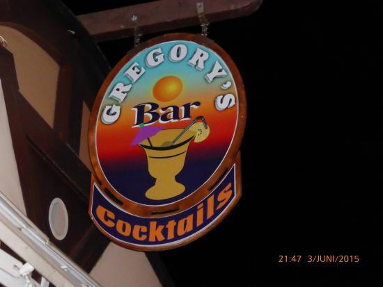 Gregory's Bar: Gregorys bar