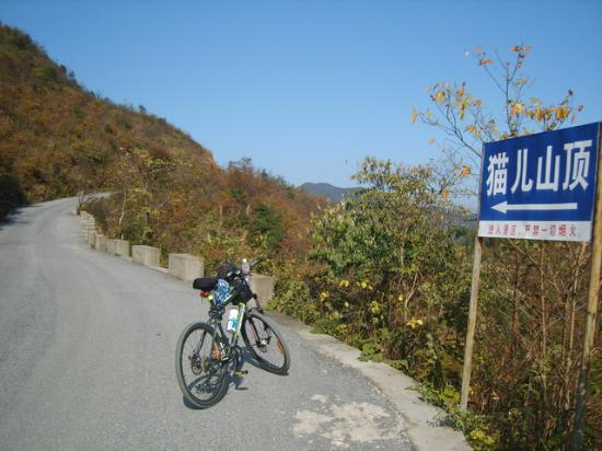 Guangxi Maoer Mountain Reserve: My cycling up of the mountain