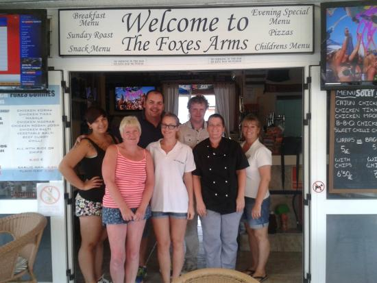 The Foxes Arms: real friendly bunch