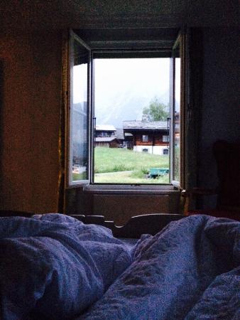 Romantik Hotel Schweizerhof Grindelwald : Great view sight seeing