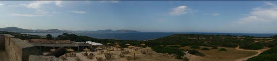 Punta de n'Amer: Panoramica da Torre