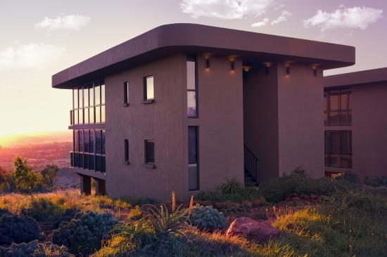 Thaba Eco Hotel: Luxury Suite outside view