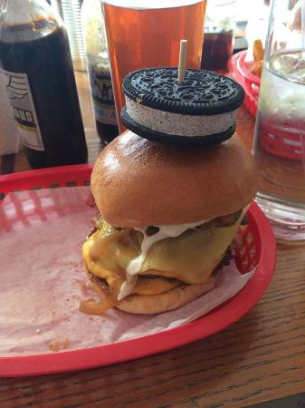Almost Famous: The Shut Up America Burger