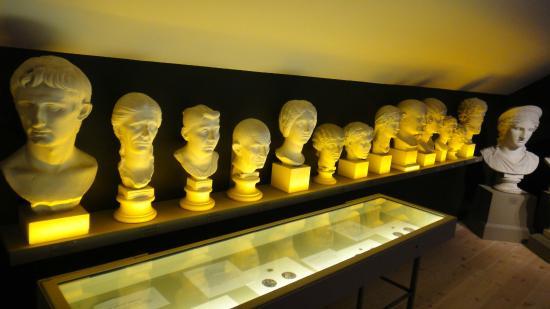 Lund University Historical Museum (Historiska Museet) : Sculptures