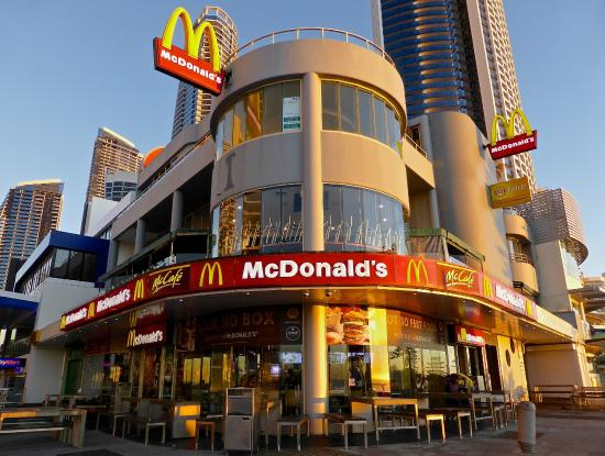 McDonald's: McDonalds at sunrise 7am