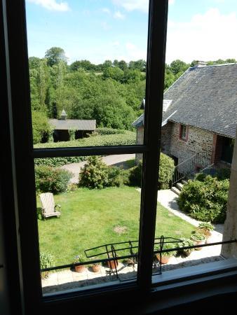Manoir de la Riviere: view from bedroom