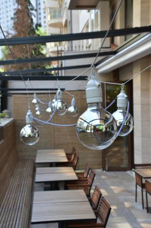 Chef's: Our terrace