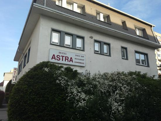 Astra : вид с торца