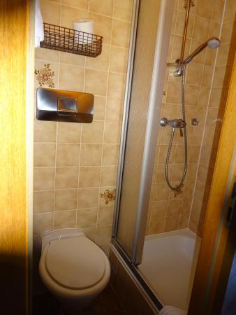 Gasthaus Ambringer Bad : Bad og toilet
