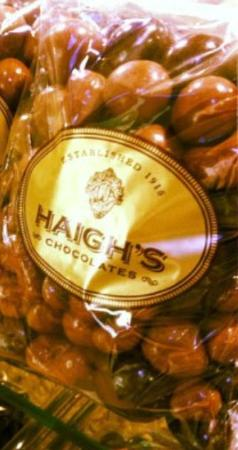 Haigh's Chocolates Glenelg: Chocolate Covered is Best