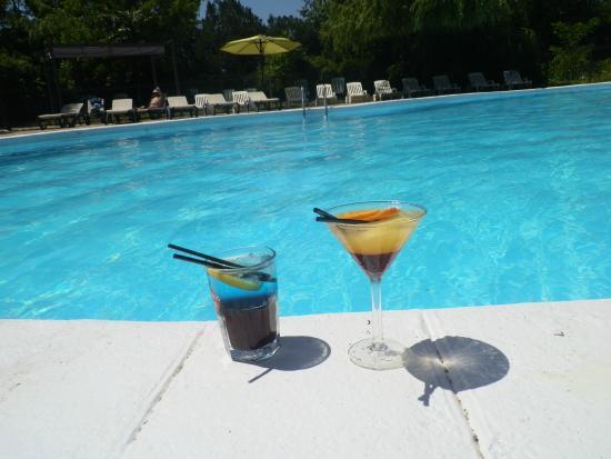 cocktail en bord de piscine picture of hotel les oliviers loriol sur drome tripadvisor. Black Bedroom Furniture Sets. Home Design Ideas