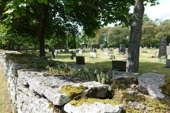 Oland, Sweden: Friedhof