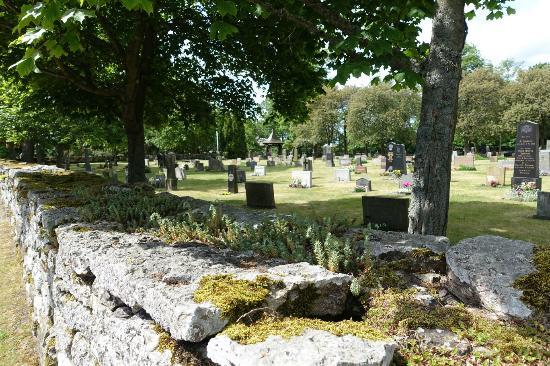 Öland, Suécia: Friedhof