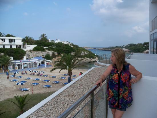 Santandria Playa Hotel: VIEW FROM OUR BALCONY, ROOM 207