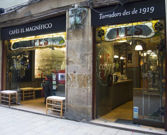 Photo of Cafe Cafés El Magnifico at Carrer De L'argenteria, 64, Barcelona 08003, Spain