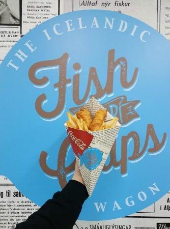 Fish and chips bild fr n the icelandic fish and chips for Icelandic fish and chips