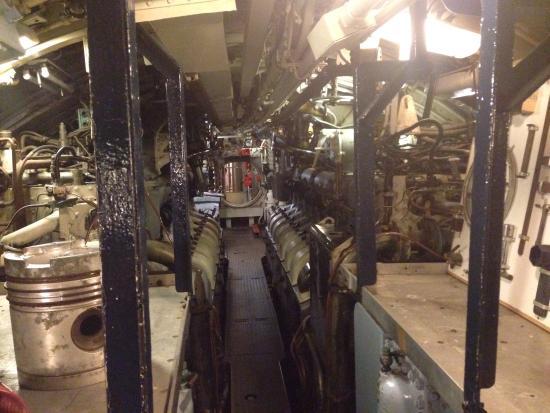 U-Boot Museum: Inside
