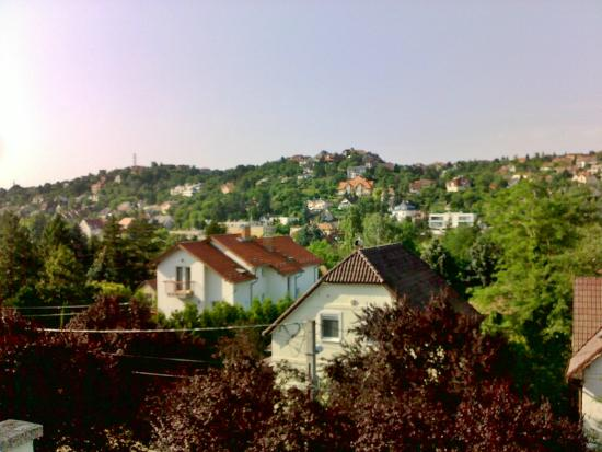 Belle Fleur Pension: View from room - only 10 min away from city center