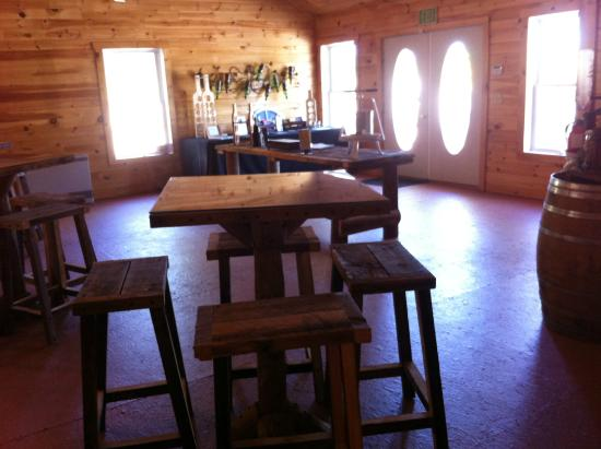 Danbury, NH: The Haunting Whisper tasting room. Photo by Meg McKenzie