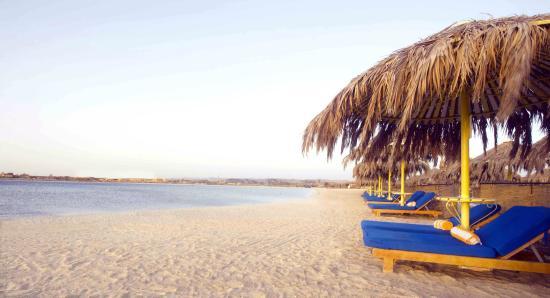 Hilton Marsa Alam Nubian Resort: Hotel beach