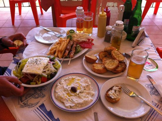 how to make greek souvlaki bread
