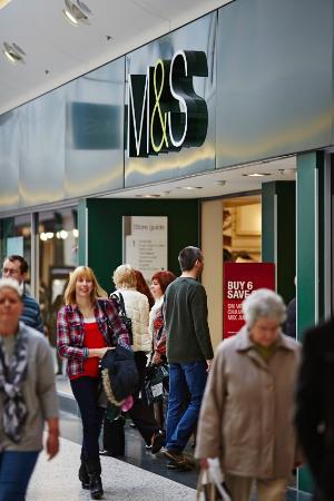 White Rose Shopping Centre: Outisde M&S