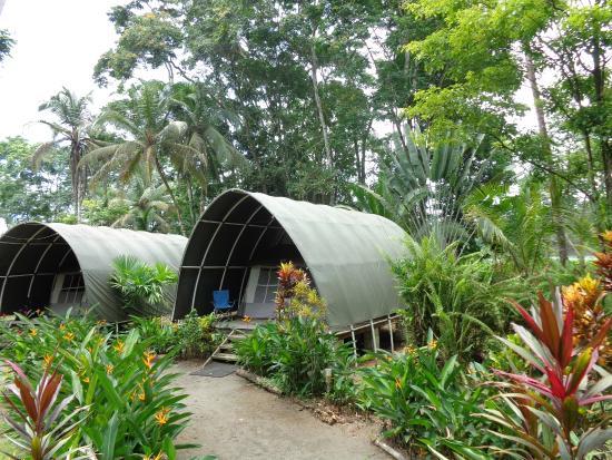 Lirio Lodge Barra de Pacuare: Tent and rain structure