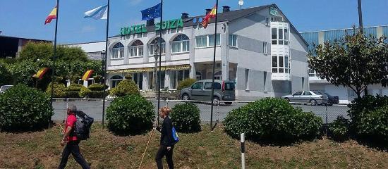 Hotel Suiza: fachada