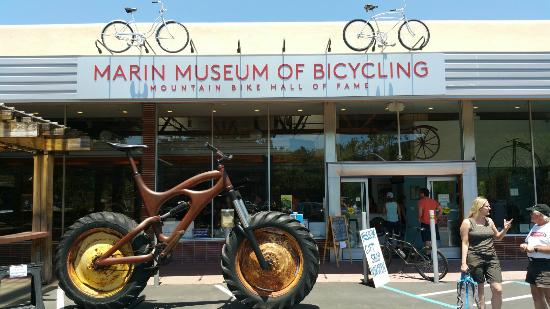 Fairfax, Californië: Marin Museum of Bicycling and Mountain Bike Hall of Fame