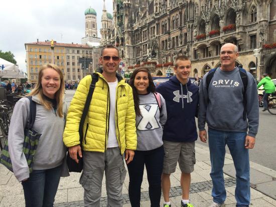 Alun Evans Personal Tour Guiding Munich