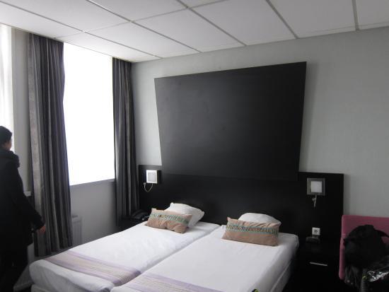 Hotel De Looier: 객실 (침대)